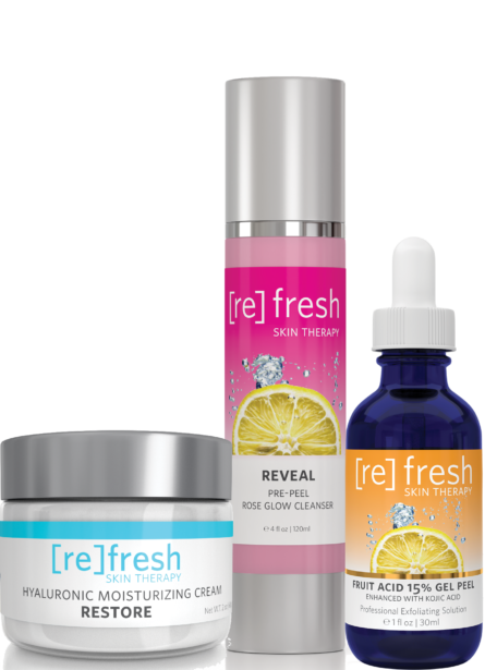 Refresh Skin Therapy - The Ultimate Fruit Acid Peel Kit