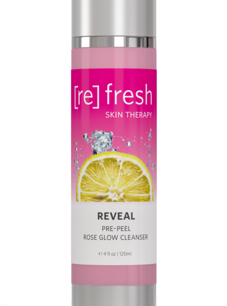 Refresh Skin Therapy - Reveal Pre-peel Rose Glow Cleanser