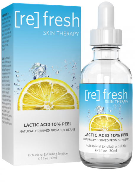 Refresh Skin Therapy - Lactic Acid 10% Gel Peel