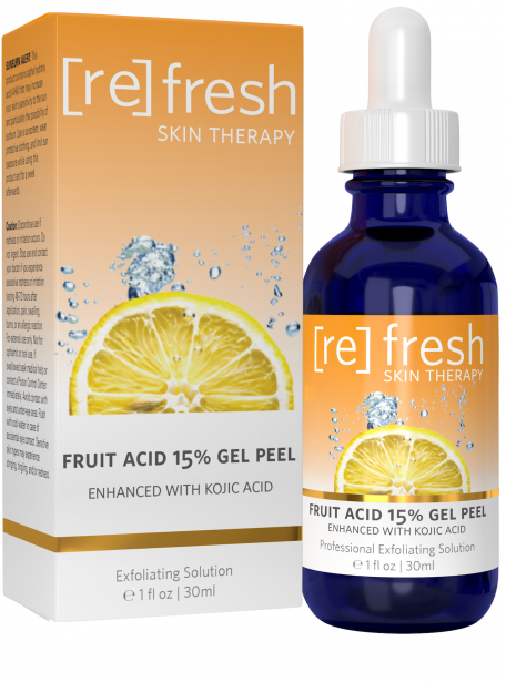 Refresh Skin Therapy - Fruit Acid 15% Gel Peel With Kojic
