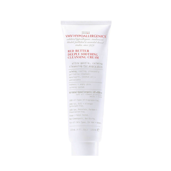 Vmv Hypoallergenics - Red Better Deeply Soothing Cleansing Cream 120 Ml