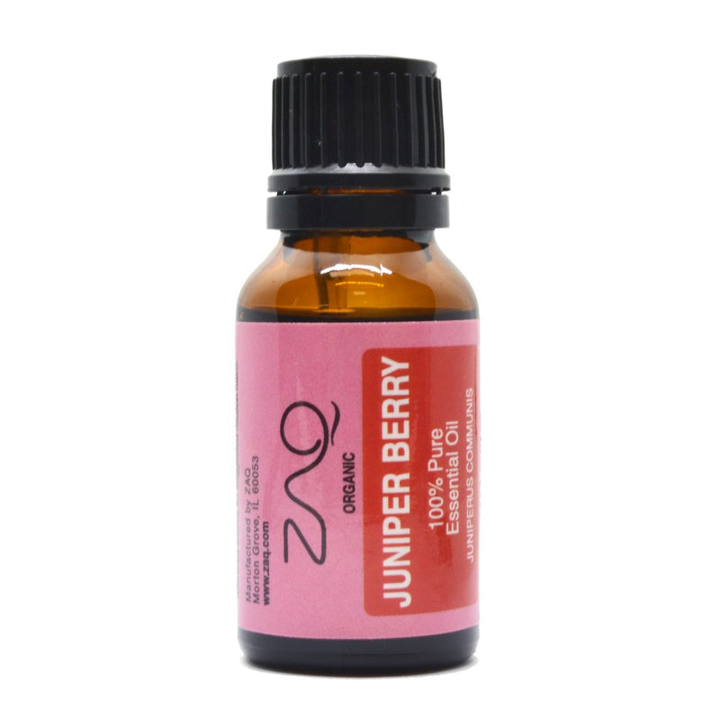 ZAQ Juniper Berry Organic 100% Pure Therapeutic Grade Essential Oil - 15ml