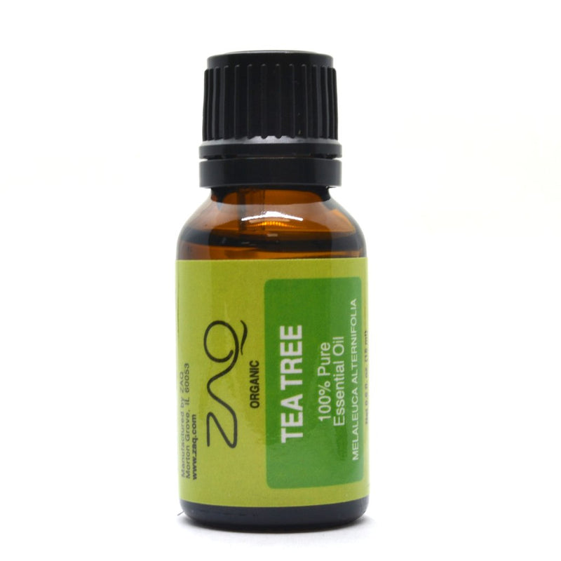 ZAQ Tea Tree Organic 100% Pure Therapeutic Grade Essential Oil - 15ml