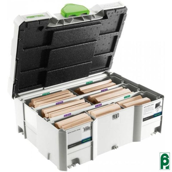 Assortimento Domino Xl Faggio Ds/xl D12/d14 128 Bu 498205 Festool
