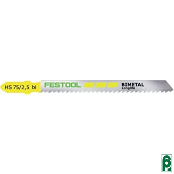 Lame Per Seghetto Bimetallo Mm.75 Pz.5 490178 Festool
