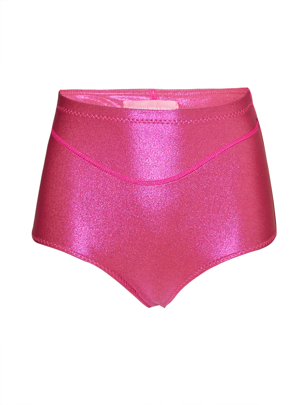 sparkling pink detox high and mighty shorts - Mermaid Wave Wear