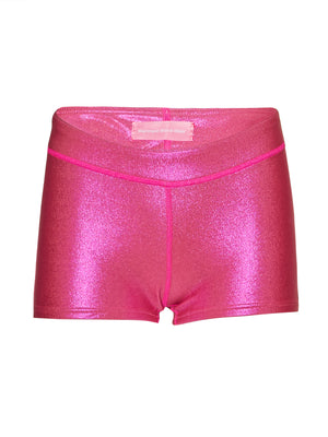 sparkling pink low boy Oh boy detox shorts - Mermaid Wave Wear