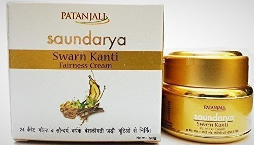 Amazon.com: Patanjali Saundarya - Swarn Kanti Fairness Cream (100% Natural ) 50g (1.75Oz) Super Saver Pack - Fast Shipping - Buy Original Only at E-Retail Deals.: SUPERBRANDS GLOBAL