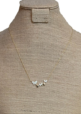 Giving Me Butterflies Necklace