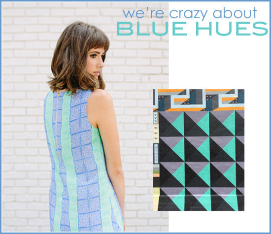 We're Crazy about Blue Hues