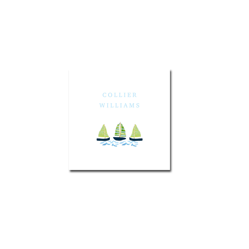 Name Cards // Sailboats