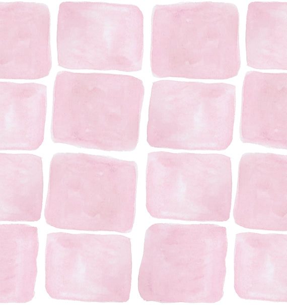 Square Print in Pink