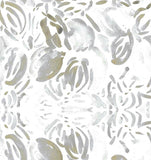 Gold Silver Cotton Print