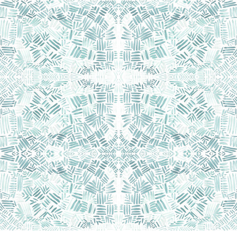 Spangle Print in Seafoam