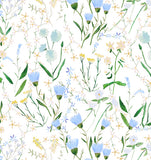 Spring Wildflower Print Wallpaper