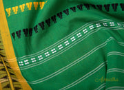 Garden - Green Pure Cotton Saree - Aprudha
