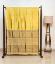 Tuscany Yellow Silk Saree - Aprudha