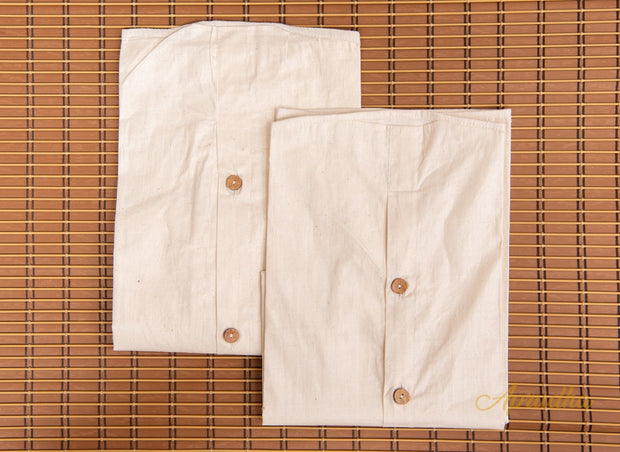 Premium Cotton Blazer Bags - 100% Pure Cotton  - 36 x 22 inch opening Pack of 2