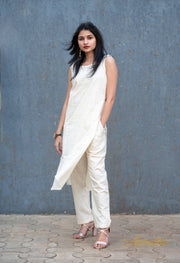 Khadi Kurti And Pant Set