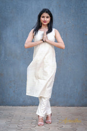 Cotton Kurti And Pant Set