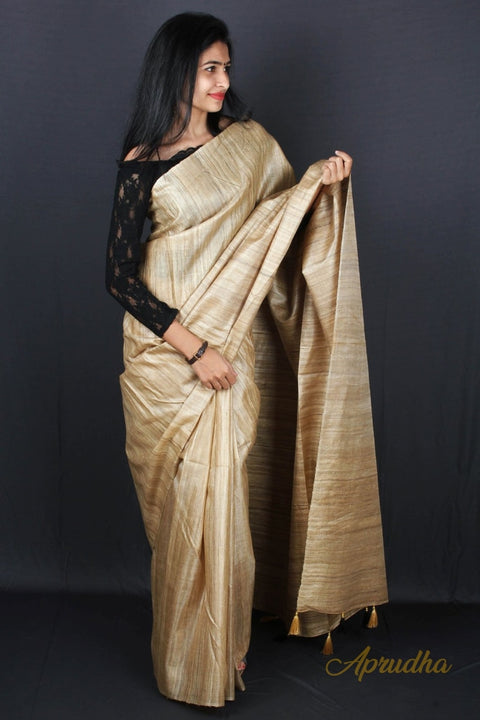Original Silk Color Saree (Non dyed)