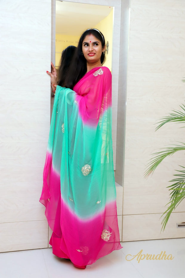 Kumara In Pure Chiffon Saree