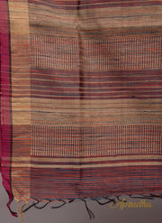 Jharna Pattern Multi colored Silk Saree