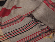 Sardine Grey Kosa Silk Saree
