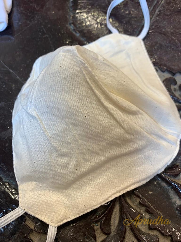 Set Of Five Non Surgical Cotton Mask