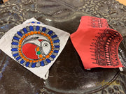 Set Of Two Non Surgical Pure Cotton Madhubani Handpainted Mask
