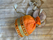 Naarangi - Orange Potli bag - Aprudha