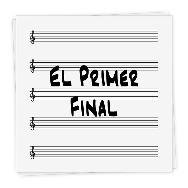 El Primer Final - Lead Sheet in Bb and C