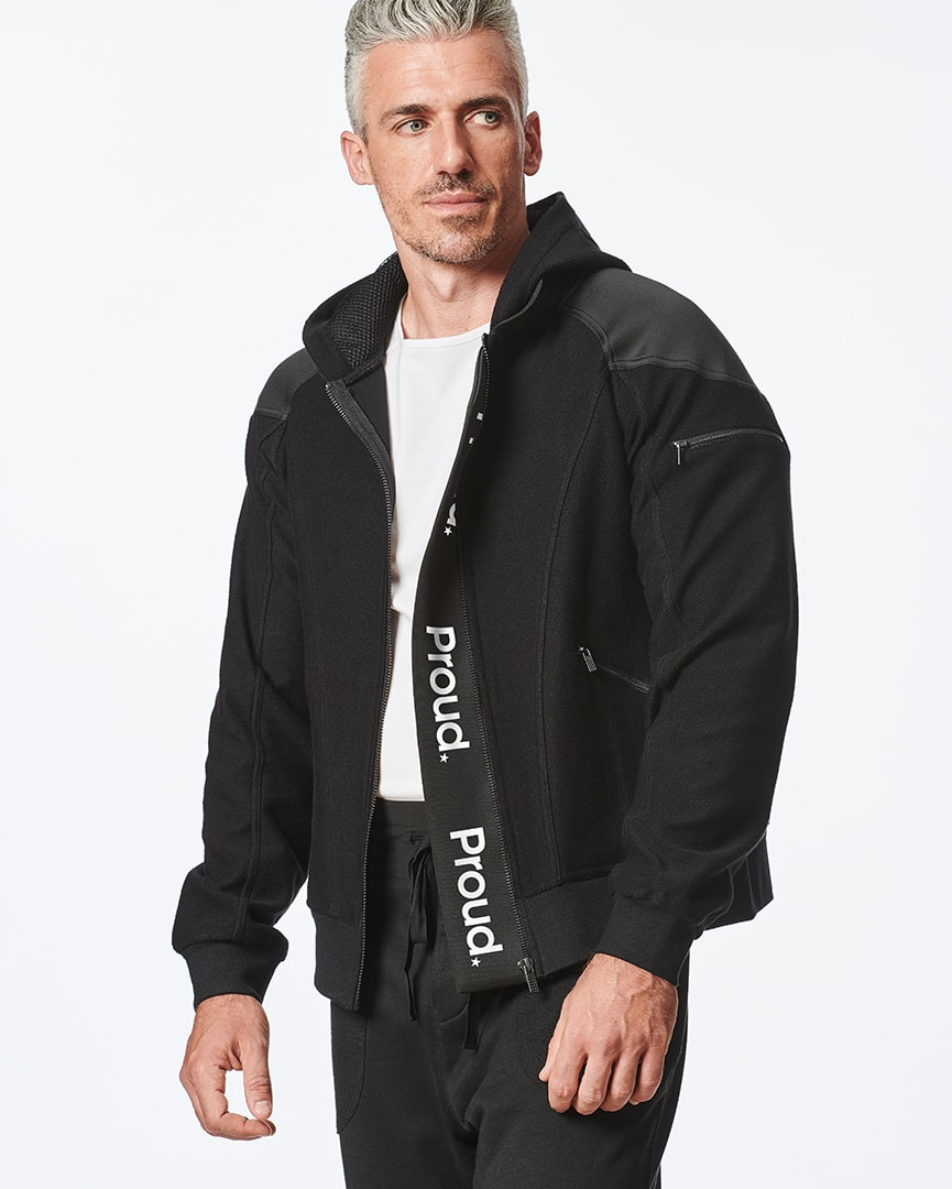 Load image into Gallery viewer, Bomber Hoodie Jacket for Men