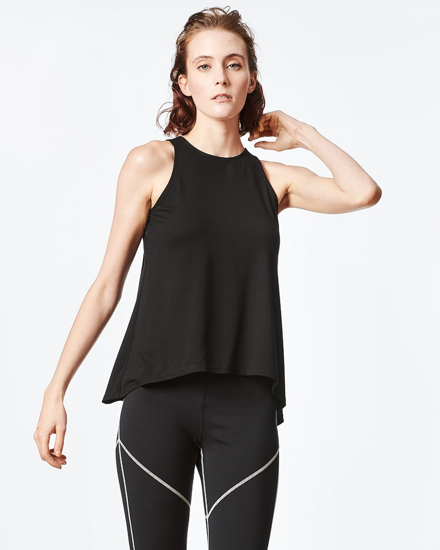 Athleisure Split Back Tank for Women