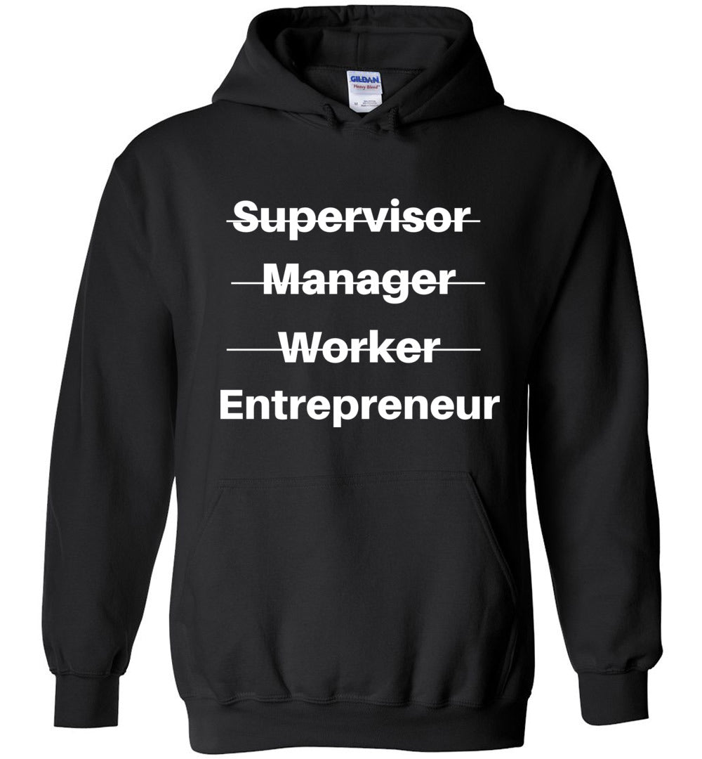 ENTREPRENEUR SWEATSHIRT (BLACK)