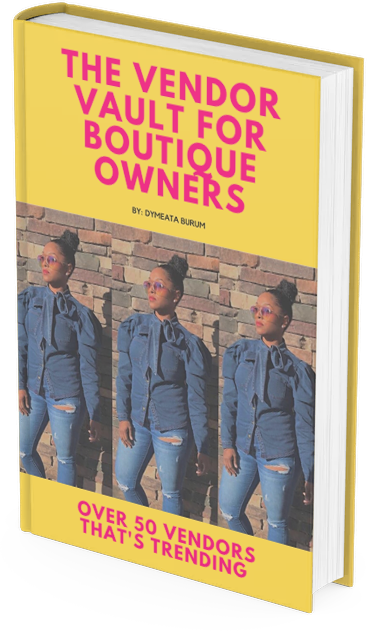 EBOOK:THE VENDOR VAULT FOR BOUTIQUE OWNERS