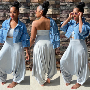 On Chill Harem Pants Set