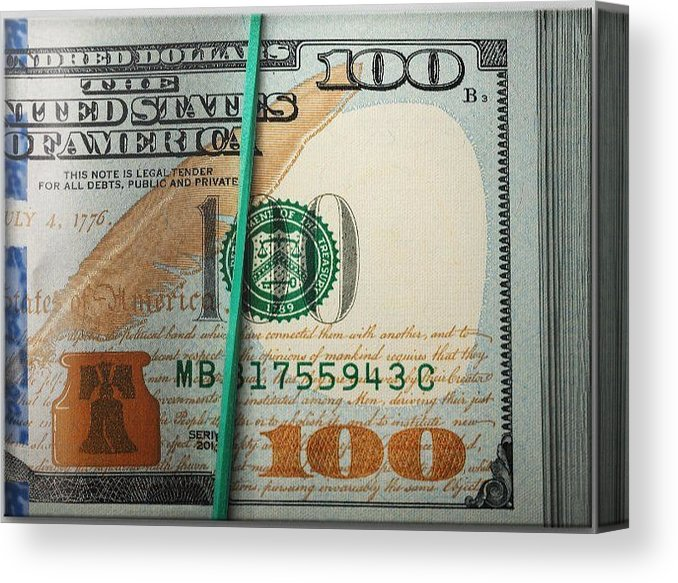 MONEY RACK - Canvas Print