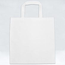 Load image into Gallery viewer, Non Woven Bag - Hornbill by Revalina - White - Square