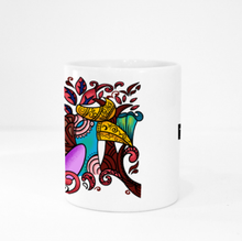 Load image into Gallery viewer, Mug - Hornbill by Revalina - White