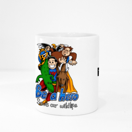 Mug - Wildlife Hero by Reynold - White