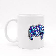 Load image into Gallery viewer, Mug - Rhino by Jeffrey - White