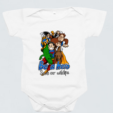 Load image into Gallery viewer, Baby Romper - Wildlife Hero by Reynold - White - Short Sleeve