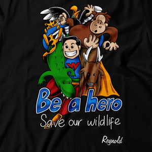 Wildlife Hero by Reynold - Black
