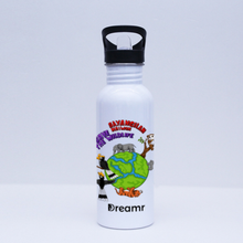 Load image into Gallery viewer, Sport Flask - Save the Wildlife by Valerent - White