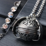 Magic 4 Photo Locket Necklace