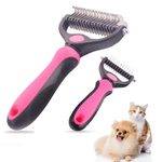 Stainless Double-sided Grooming Comb
