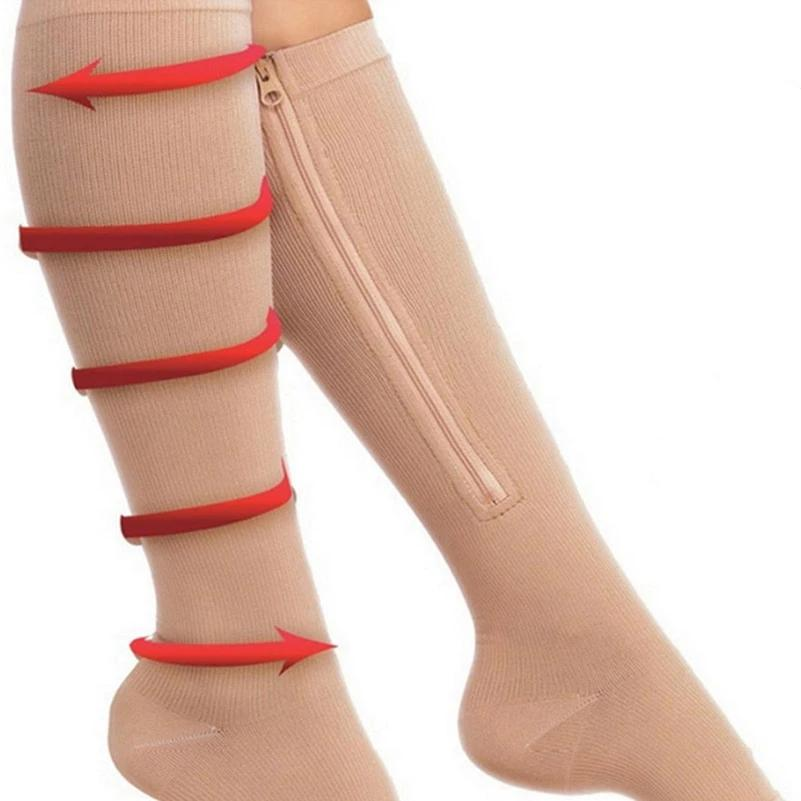Compression Socks Zipper