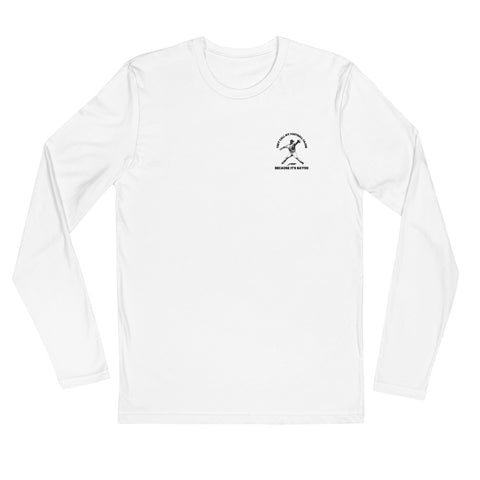 Cajun Fastball Long Sleeve Fitted Crew
