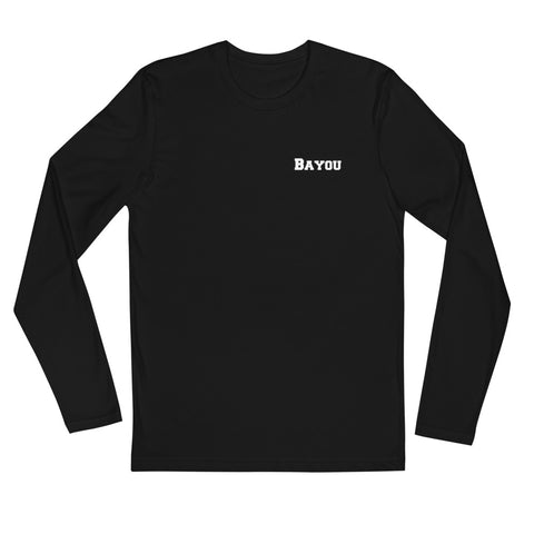 Gator Shadow Long Sleeve Fitted Crew